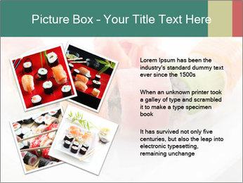 Salmon and Avocado PowerPoint Template - Slide 23