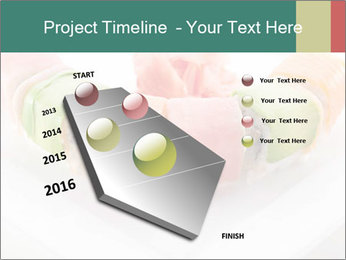 Salmon and Avocado PowerPoint Template - Slide 26