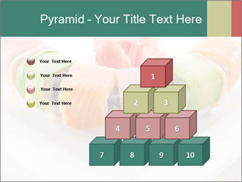 Salmon and Avocado PowerPoint Template - Slide 31