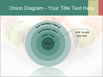 Salmon and Avocado PowerPoint Template - Slide 61
