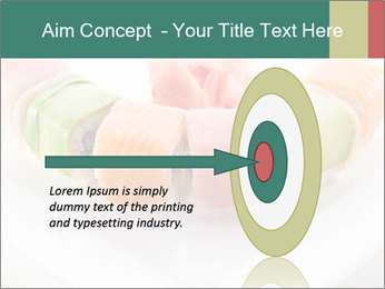 Salmon and Avocado PowerPoint Template - Slide 83