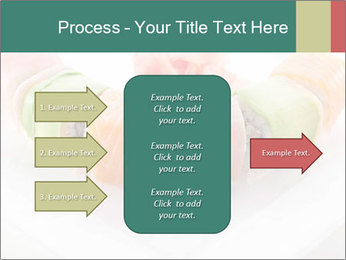 Salmon and Avocado PowerPoint Template - Slide 85