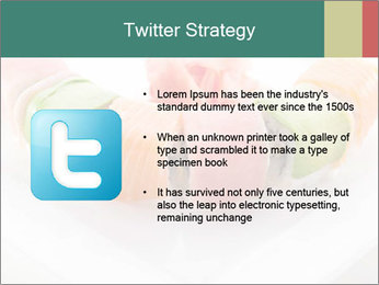 Salmon and Avocado PowerPoint Template - Slide 9
