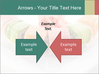 Salmon and Avocado PowerPoint Template - Slide 90