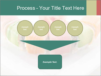 Salmon and Avocado PowerPoint Template - Slide 93