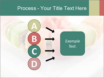 Salmon and Avocado PowerPoint Template - Slide 94