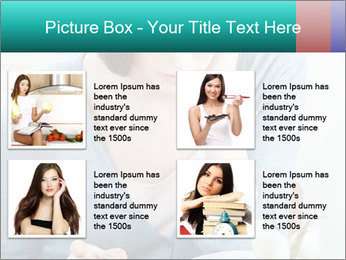 Lady reads an interesting book PowerPoint Template - Slide 14