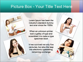 Lady reads an interesting book PowerPoint Template - Slide 24