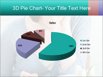 Lady reads an interesting book PowerPoint Template - Slide 35