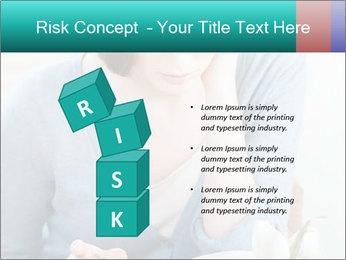 Lady reads an interesting book PowerPoint Template - Slide 81