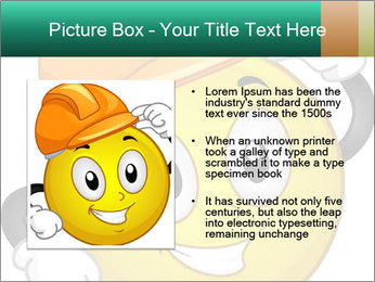 Smiley Wearing a Hard Hat PowerPoint Template - Slide 13