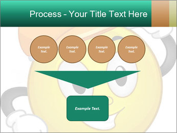 Smiley Wearing a Hard Hat PowerPoint Template - Slide 93
