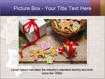 Gingerbread cookies PowerPoint Template - Slide 16