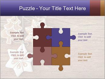 Gingerbread cookies PowerPoint Template - Slide 43