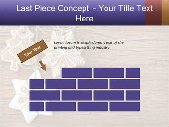 Gingerbread cookies PowerPoint Template - Slide 46