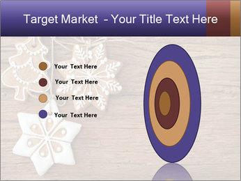 Gingerbread cookies PowerPoint Template - Slide 84