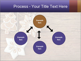 Gingerbread cookies PowerPoint Template - Slide 91