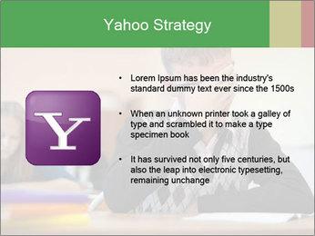 Upset student PowerPoint Template - Slide 11