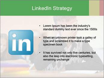 Upset student PowerPoint Template - Slide 12