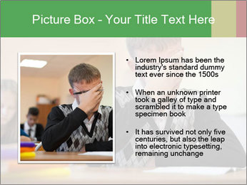Upset student PowerPoint Template - Slide 13