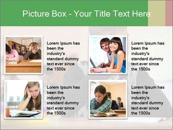 Upset student PowerPoint Template - Slide 14