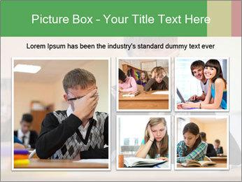 Upset student PowerPoint Template - Slide 19