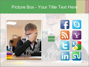 Upset student PowerPoint Template - Slide 21