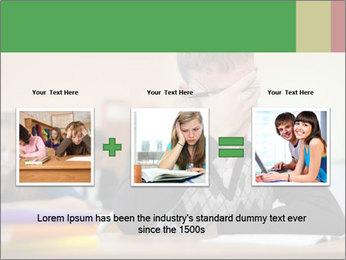 Upset student PowerPoint Template - Slide 22