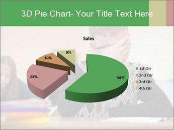 Upset student PowerPoint Template - Slide 35