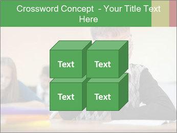 Upset student PowerPoint Template - Slide 39