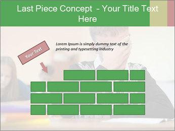 Upset student PowerPoint Template - Slide 46