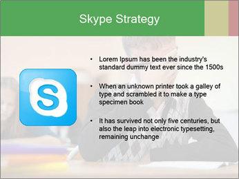 Upset student PowerPoint Template - Slide 8