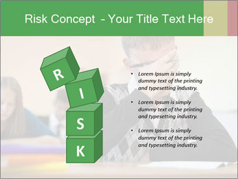 Upset student PowerPoint Template - Slide 81
