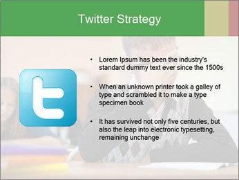 Upset student PowerPoint Template - Slide 9
