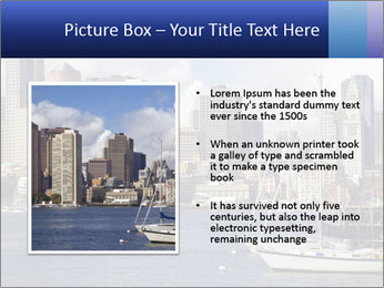 Boston skyline PowerPoint Template - Slide 13