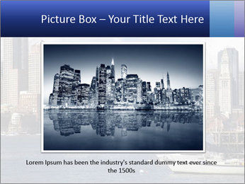 Boston skyline PowerPoint Template - Slide 15