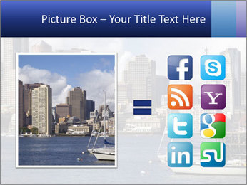 Boston skyline PowerPoint Template - Slide 21