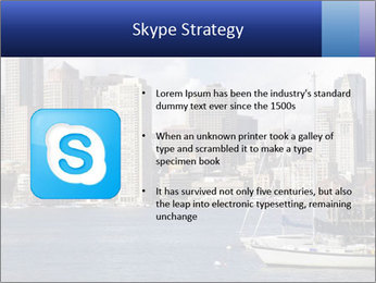 Boston skyline PowerPoint Template - Slide 8