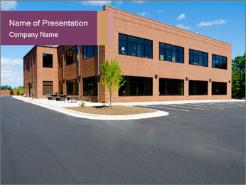 Office building PowerPoint Template - Slide 1