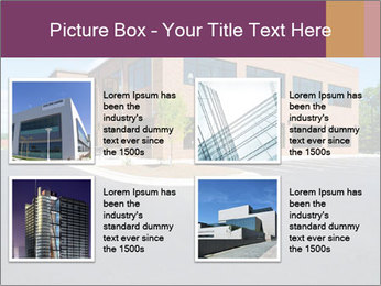 Office building PowerPoint Template - Slide 14