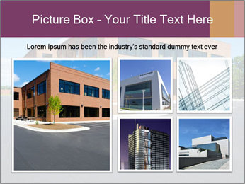 Office building PowerPoint Template - Slide 19