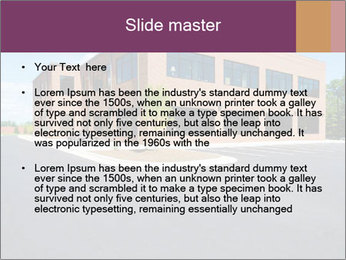 Office building PowerPoint Template - Slide 2
