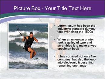 Kite surfer PowerPoint Template - Slide 13