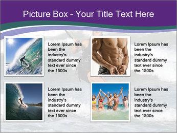Kite surfer PowerPoint Template - Slide 14
