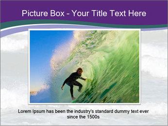 Kite surfer PowerPoint Template - Slide 15