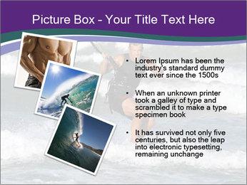 Kite surfer PowerPoint Template - Slide 17
