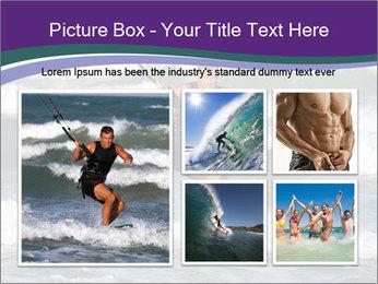 Kite surfer PowerPoint Template - Slide 19