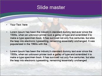 Kite surfer PowerPoint Template - Slide 2