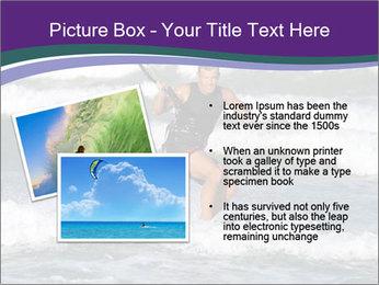 Kite surfer PowerPoint Template - Slide 20