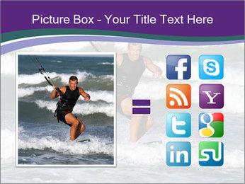 Kite surfer PowerPoint Template - Slide 21